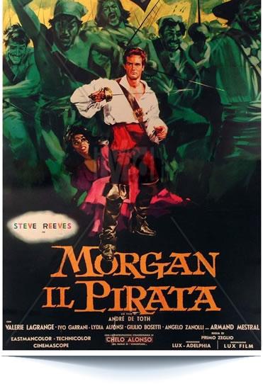 Morgan il Pirata di Primo Zeglio, André De Toth (1960)
